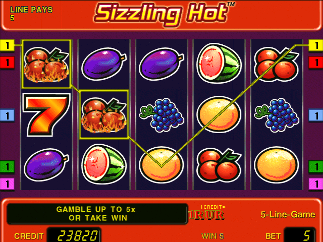 sizzling hot flash game
