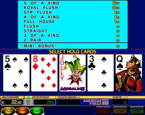 American poker 2 flash game